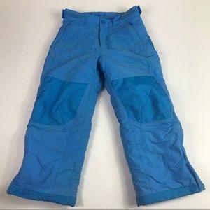 Ll bean snowboarding pants skiing size 5 blue